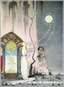 Out Flew the Moon by Kay Nielsen