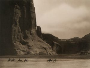 Canyon de Chelly by Edward Curtis