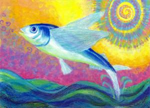 Flying Fish by Heni Sandoval