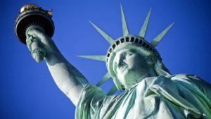 Lady Liberty happy again