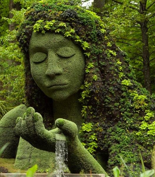 Atlanta Botanical Garden Skyline Gardens: Heavenly Messages By Melissa